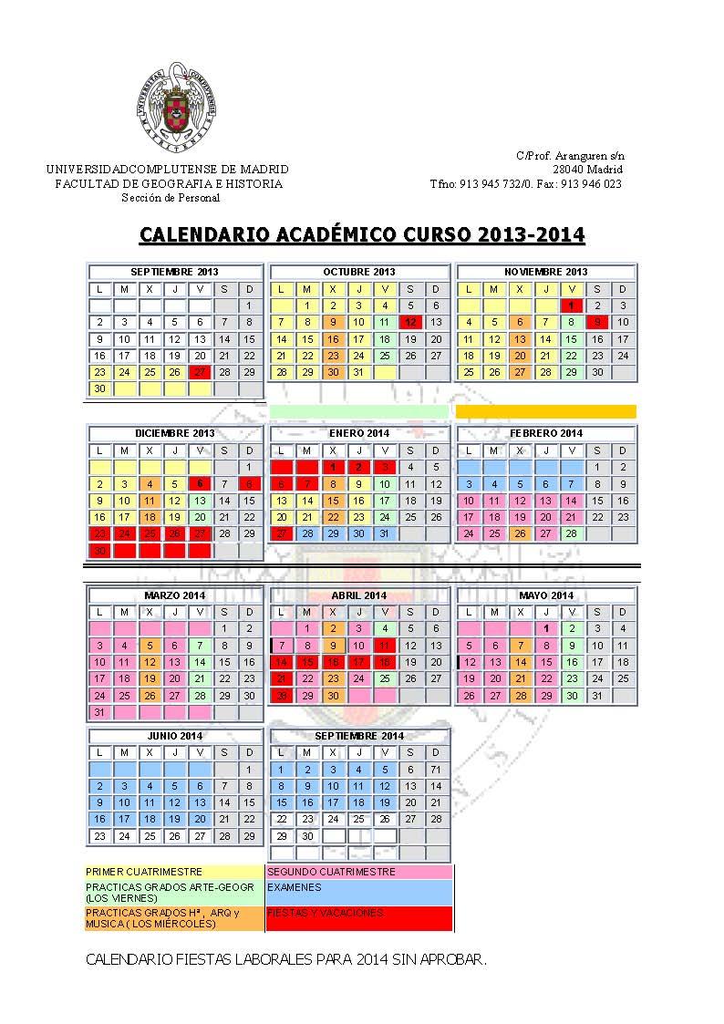Ucm Academic Calendar.Academic Academic Calendar Columbia